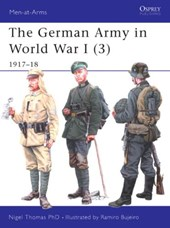 The German Army in World War I 1917-18 | Nigel Thomas |