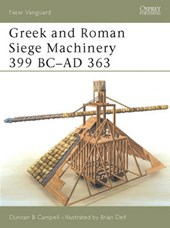 Greek and Roman Siege Machinery 399 Bc-Ad
