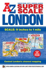 Super Scale London Street Atlas | auteur onbekend |