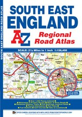 South East England Regional Road Atlas | auteur onbekend |