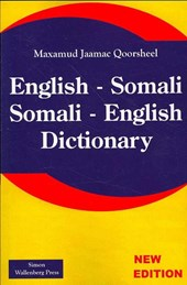 English - Somali; Somali - English Dictionary