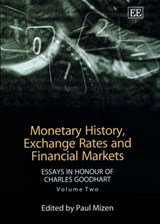 Monetary History Exchange Rates and Financial Markets |  |