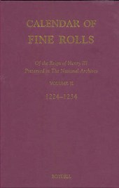Calendar of the Fine Rolls of the Reign of Henry III