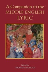 A Companion to the Middle English Lyric |  |