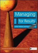 Managing for Results | Gillian Watson |