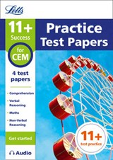 11+ Practice Test Papers (Get started) for the CEM tests inc | Letts 11+ |