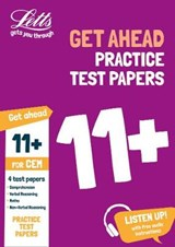 11+ Practice Test Papers (Get ahead) for the CEM tests inc. | Letts 11+ |