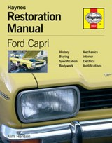 Ford Capri Restoration Manual | Kim Henson |