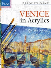 Venice in Acrylics [With 6 Reusable Tracings]