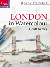 London in Watercolour [With Stencils]