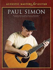 Acoustic Masters For Guitar | Paul Simon |