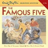 Famous Five on Treasure Island and Famous Five on Secret Tra | Enid Blyton |