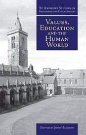 Values, Education and the Human World |  |