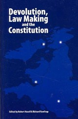 Devolution, Law Making and the Constitution | auteur onbekend |