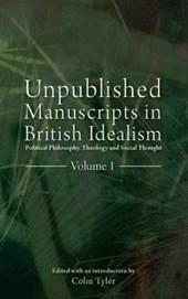 Unpublished Manuscripts in British Idealism