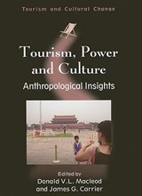 Tourism, Power and Culture | auteur onbekend |