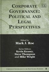 Corporate Governance: Political and Legal Perspectives | auteur onbekend |
