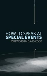How to Speak at Special Events | David Cook |