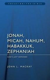 Jonah, Micah, Nahum, Habakkuk, and Zephaniah