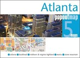 Atlanta Popout Map | Popout Maps |