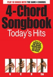 4-Chord Songbook Today's Hits Guitar Book