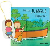 Little Jungle Explorers [With Movable Puppet Piece]