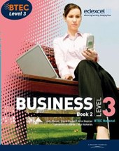 BTEC Level 3 National Business Student Book | Catherine Richards |