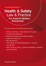 Health And Safety Law & Practice | Samantha Walker |