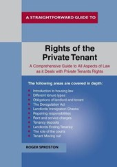 Rights Of The Private Tenant | Roger Sproston |