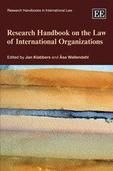 Research Handbook on the Law of International Organizations |  |