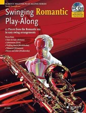 Swinging Romantic Play-Along. Tenor-Saxophon; Klavier ad lib.