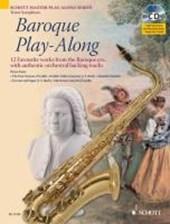 Baroque Play-Along. Tenor-Saxophon