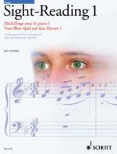 Piano Sight-Reading 1/Dechiffrage Pour Le Piano 1/Vom-Blatt-Spiel Auf Dem Klavier