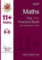 11+ Maths Practice Book with Assessment Tests Ages 8-9 (for