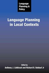 Language Planning and Policy | auteur onbekend |