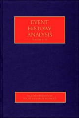 Event History Analysis | Lawrence L Wu |