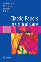 Classic Papers in Critical Care | auteur onbekend |