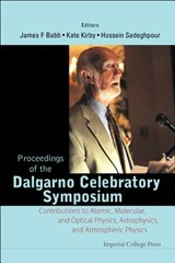 Proceedings of the Dalgarno Celebratory Symposium |  |