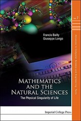 Mathematics and the Natural Sciences | Giuseppe Longo |