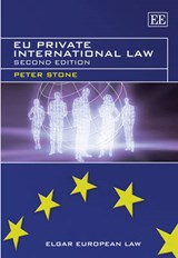 EU Private International Law | Peter Stone |