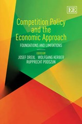 Competition Policy and the Economic Approach | auteur onbekend |