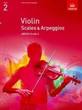 Violin Scales & Arpeggios, ABRSM Grade