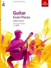 Guitar Exam Pieces from 2019, ABRSM Grade 4