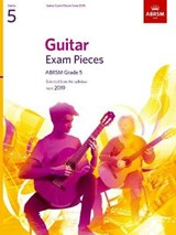Guitar Exam Pieces from 2019, ABRSM Grade 5 | auteur onbekend |