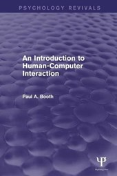An Introduction to Human-Computer Interaction | Paul A. Booth |