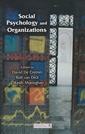 Social Psychology and Organizations |  |