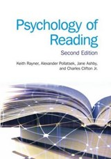 Psychology of Reading | Keith Rayner |