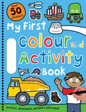 Blue Colour and Activity Book