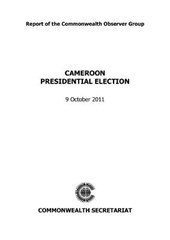 Cameroon Presidential Election