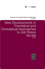 New Developments in Theoretical and Conceptual Approaches to Job Stress | auteur onbekend |